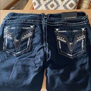 Black Vigoss skinny jeans